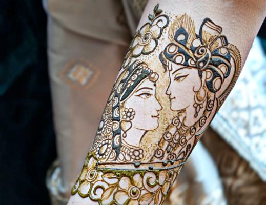 bride-groom-henna-art
