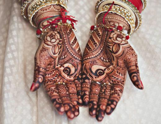 henna-peocock