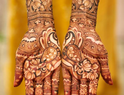 peacock-henna-art